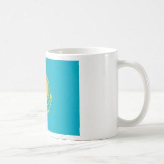 Caneca De Café Baixo custo! Bandeira de Kazakhstan