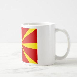 Caneca De Café Baixo custo! Bandeira de Macedónia