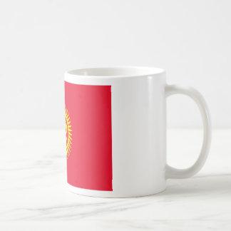 Caneca De Café Baixo custo! Quirguistão embandeira