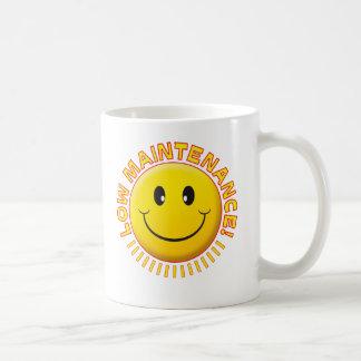 Caneca De Café Baixo smiley da manutenção