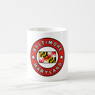 Caneca De Café Baltimore Maryland