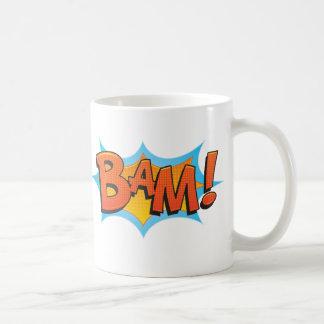 Caneca De Café BAM cómico!