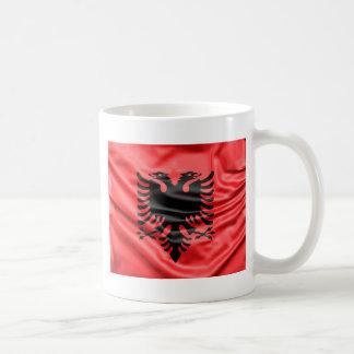 Caneca De Café Bandeira albanesa