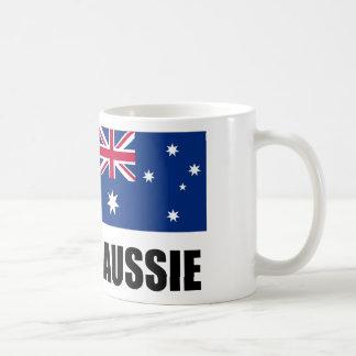 """Caneca De Café Bandeira/""""Aussie australianos """""""