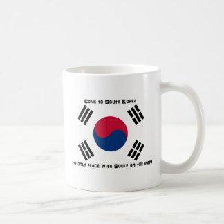 Caneca De Café Bandeira coreana sul