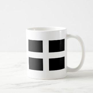 Caneca De Café Bandeira da Cornualha de Piran Cornish do santo -