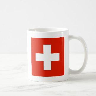 Caneca De Café Bandeira da suiça