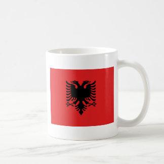 Caneca De Café Bandeira de Albânia - Flamuri mim Shqipërisë