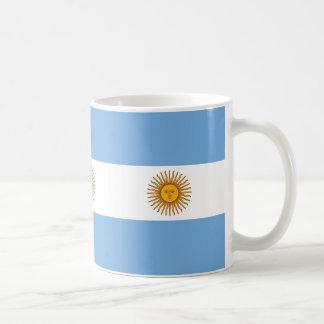Caneca De Café Bandeira de Argentina