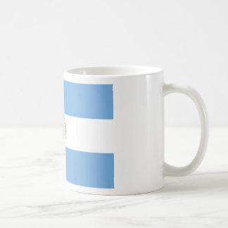Caneca De Café Bandeira de Argentina - bandera de Argentina