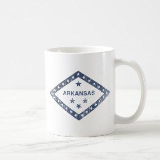 Caneca De Café Bandeira de Arkansas