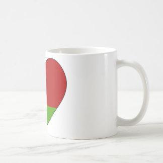 Caneca De Café Bandeira de Belarus simples
