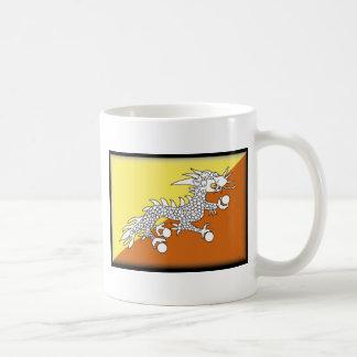Caneca De Café Bandeira de Bhutan
