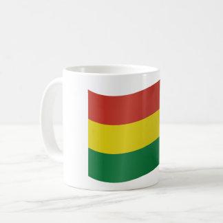 Caneca De Café Bandeira de Bolívia