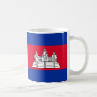 Caneca De Café Bandeira de Cambodia