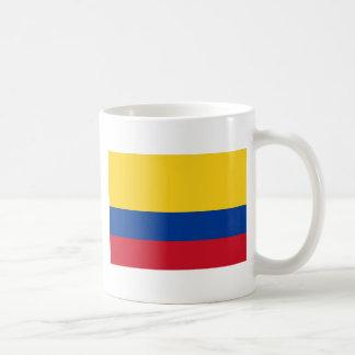 Caneca De Café Bandeira de Colômbia - bandera de Colômbia