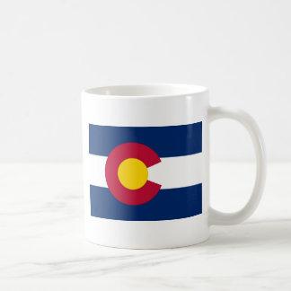 Caneca De Café Bandeira de Colorado