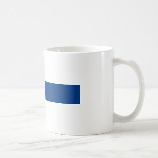 Caneca De Café Bandeira de Finlandia (lippu de Suomen, flagga de
