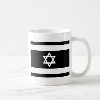 Caneca De Café Bandeira de Israel - דגלישראל - ישראלדיקעפאן