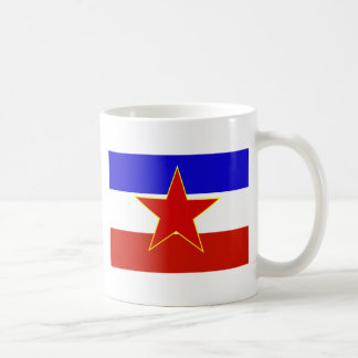 Caneca De Café Bandeira de Jugoslávia