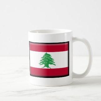 Caneca De Café Bandeira de Líbano
