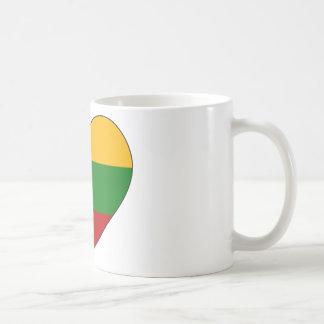 Caneca De Café Bandeira de Lithuania simples