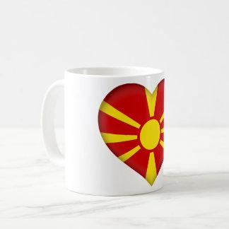 Caneca De Café Bandeira de Macedónia