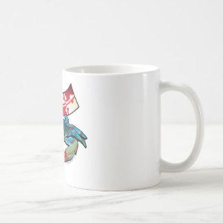 Caneca De Café Bandeira de Maryland do caranguejo azul