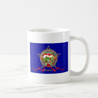 Caneca De Café Bandeira de Minnesota