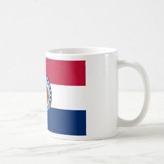 Caneca De Café Bandeira de Missouri