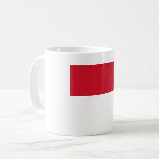 Caneca De Café Bandeira de Monaco