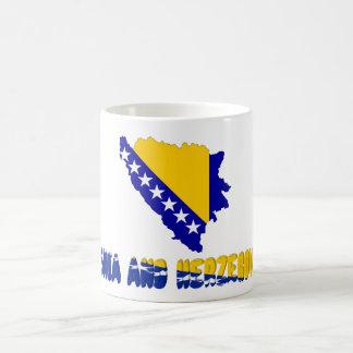 Caneca De Café Bandeira de país bosniana