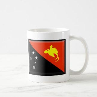 Caneca De Café Bandeira de Papuá-Nova Guiné