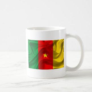 Caneca De Café Bandeira de República dos Camarões