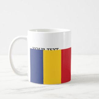 Caneca De Café Bandeira de Romania