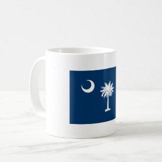 Caneca De Café Bandeira de South Carolina