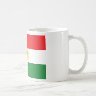 Caneca De Café Bandeira do Curdistão; Curdo; Curdo