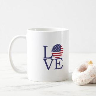 Caneca De Café Bandeira dos Estados Unidos