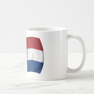 Caneca De Café Bandeira dos Países Baixos