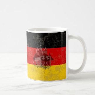Caneca De Café Bandeira e símbolos de Alemanha ID152
