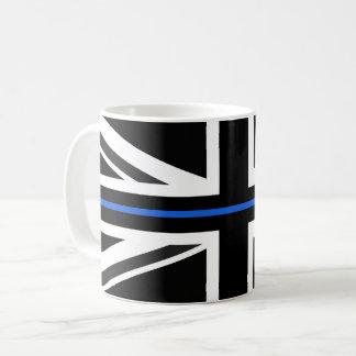 Caneca De Café Bandeira fina de Blue Line Reino Unido