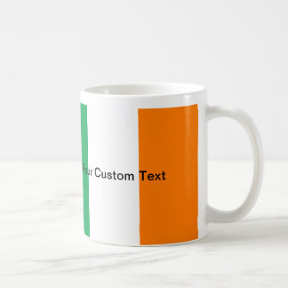 Caneca De Café Bandeira irlandesa feita sob encomenda