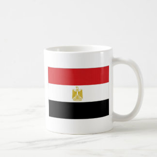 Caneca De Café Bandeira nacional de Egipto