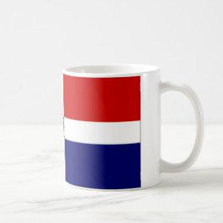 Caneca De Café Bandeira naval da República Dominicana