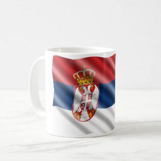 Caneca De Café Bandeira sérvio