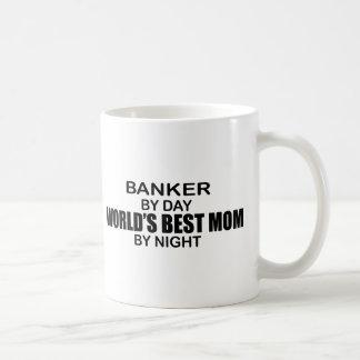 Caneca De Café Banqueiro - a melhor mamã do mundo