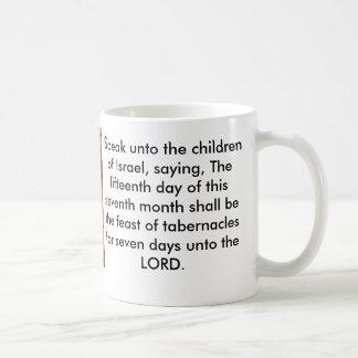 Caneca De Café Banquete do verso da bíblia dos tabernáculos