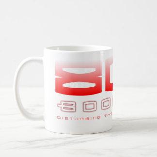 Caneca De Café Bap de 808 crescimentos (vermelho)