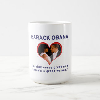 Caneca De Café Barack & Michelle Obama