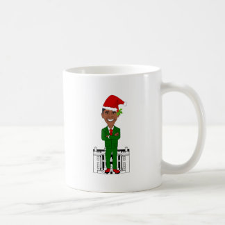 Caneca De Café Barack Obama Papai Noel